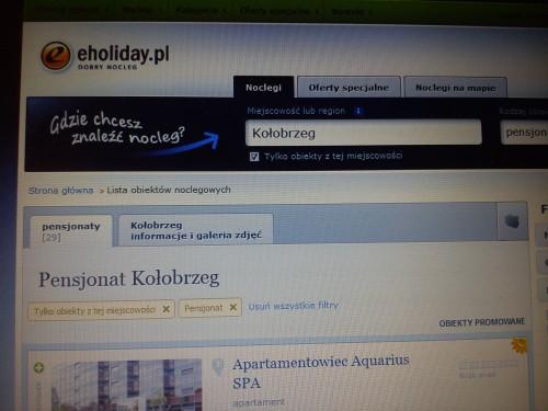 Kołobrzeg pensjonaty eholiday.p