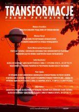 Transformacje Prawa Prywatnego 2019, nr 3